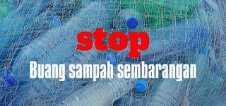 Stop buang sampah sembarangan