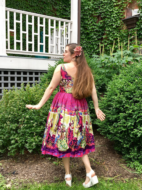 Retrospec'd Flamenco Elizabeth Dress Daisy Jean floral designs