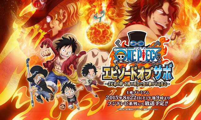 One Piece: Episode of Sabo - 3 Kyoudai no Kizuna Kiseki no Saikai to Uketsugareru Ishi (1/1) (900MB) (HDL) (Sub Español) (Mega)