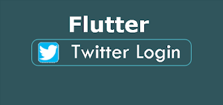 flutter twitter login and get user name