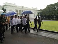 Di Panggung Aksi 212 Presiden Jokowi Pidato Benarkan AKSI SUPER DAMAI