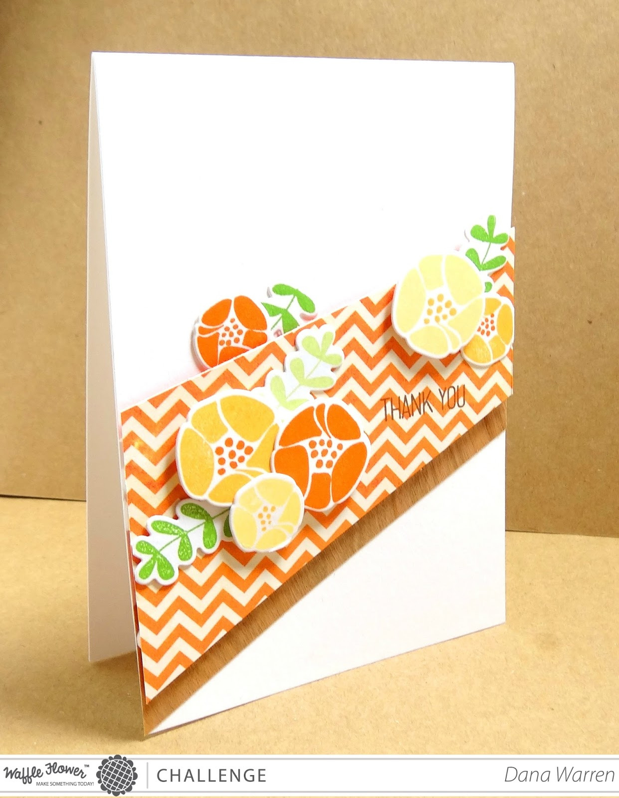 Dana Warren - Kraft Paper Stamps - Waffle Flower Crafts