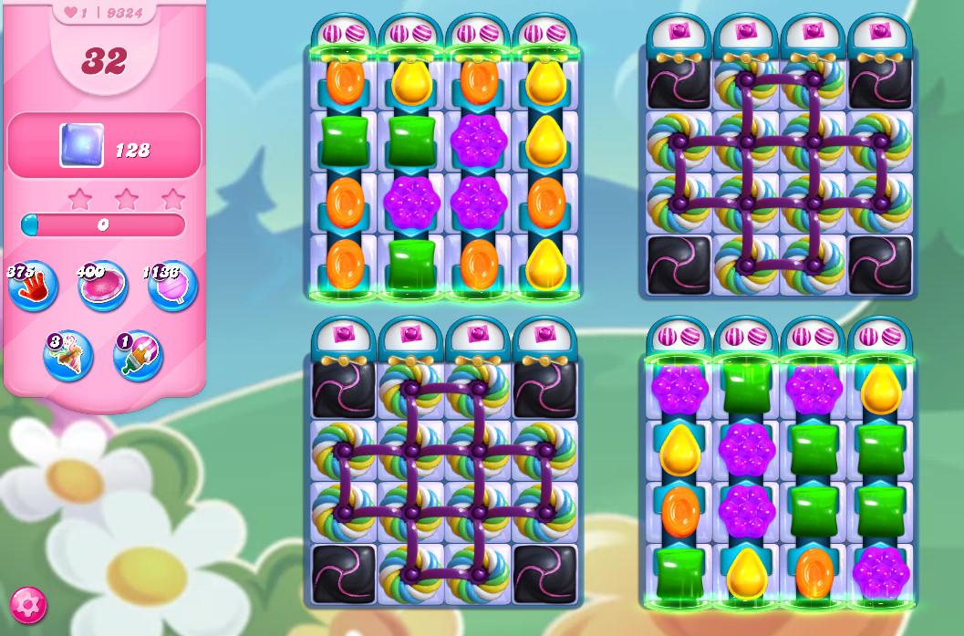 Candy Crush Saga level 9324