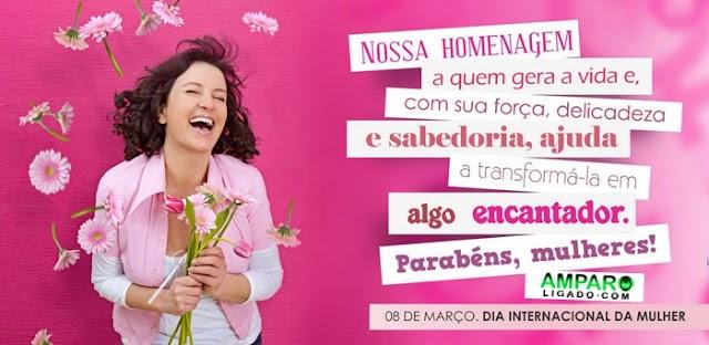 Mensagem do Amparo Ligado à todas as mulheres pelo Dia Internacional da Mulher