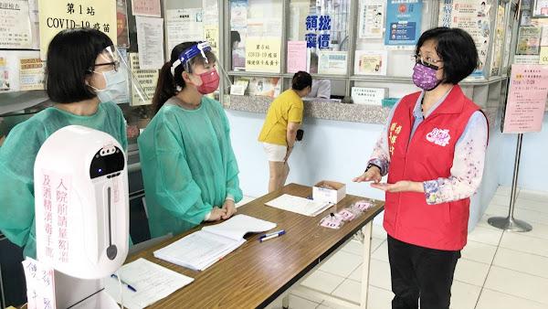 提升疫苗施打率 彰化國、高中教職員工開打疫苗