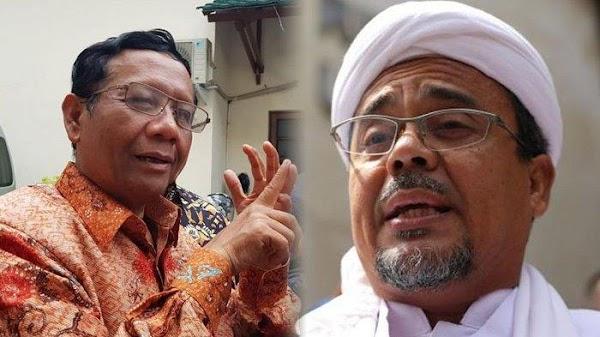 Mahfud Luruskan Soal Kesediaan Bayar Denda Overstay Habib Rizieq