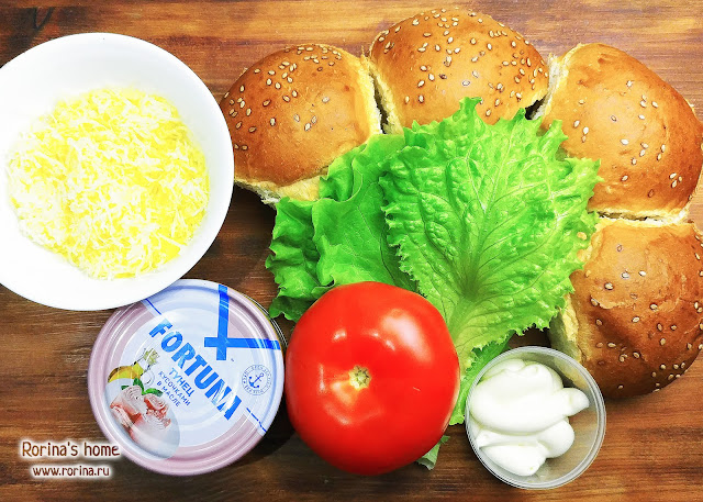 Как приготовить сэндвич с тунцом?