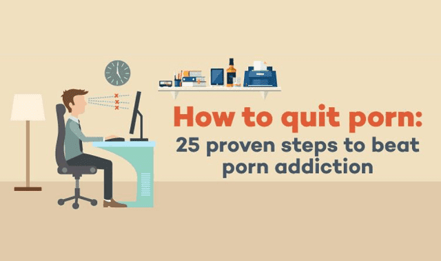 How To Quit Porn – 25 Proven Steps To Beat Porn #Infographic