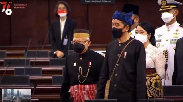 Cerita Tetua Adat Saat Jokowi Pesan Busana Badui, Namanya Baju Kampret