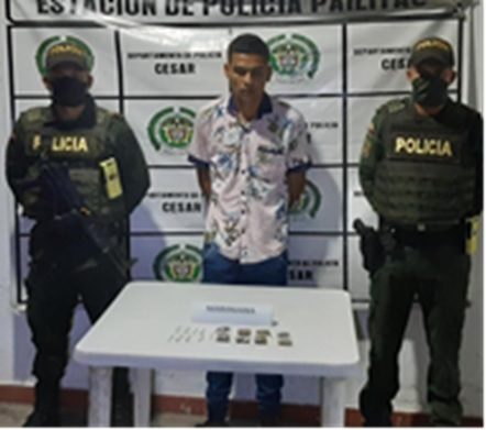 En Pelaya cayó jíbaro de marihuana