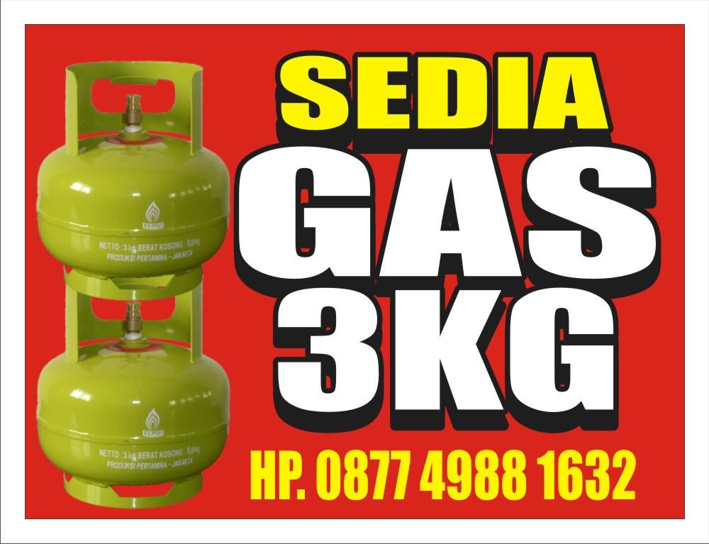 Download Gratis Contoh Spanduk Jual Gas Format CDR - KARYAKU