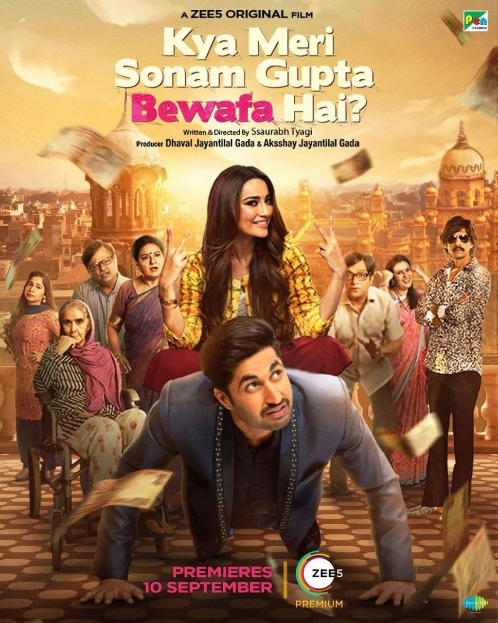 Kya Meri Sonam Gupta Bewafa Hai (2021) Hindi Full Movie 480p ZEE5 HDRip x264 400MB Download