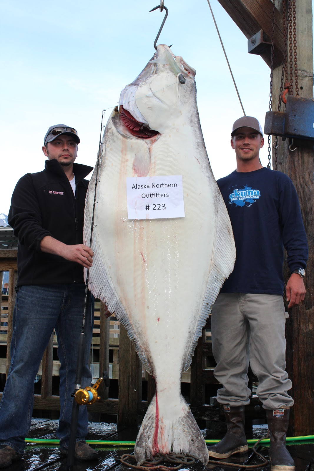The Biggest Spring 2016 Fashion Trends On Pinterest: Captain's Blog: August 25th- #227lbs Biggest Halibut Of