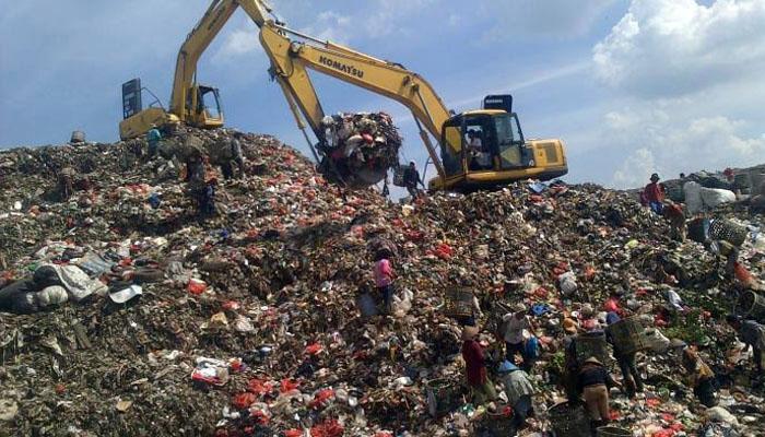 Waduh, Bekasi Disebut Sebagai Tempat Sampah Terbesar di Dunia