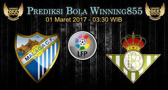 Prediksi Skor Malaga vs Real Betis