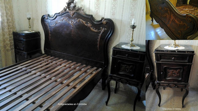 Juego de Dormitorio Completo. Luis XVI