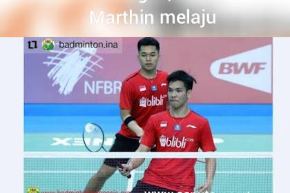 Tunggal Putra gagal, Leo/Daniel melaju di Thailand Masters 2020