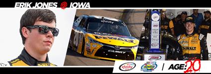 #NASCAR Rookies Rule - Erik Jones