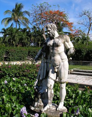 Statue of Hercules, Versailles Gardens, Paradise Is.,