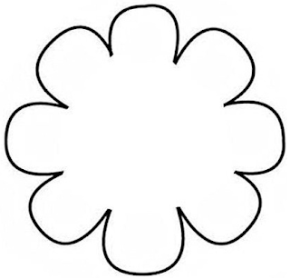 Made in craftadise top art crafts home decor blog in for 12 petal flower template
