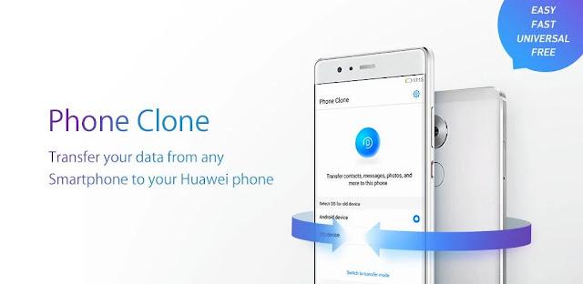 تنزيل Phone Clone  - تطبيق نقل البيانات الكامل  إلى هاتف Huawei لنظام الاندرويد