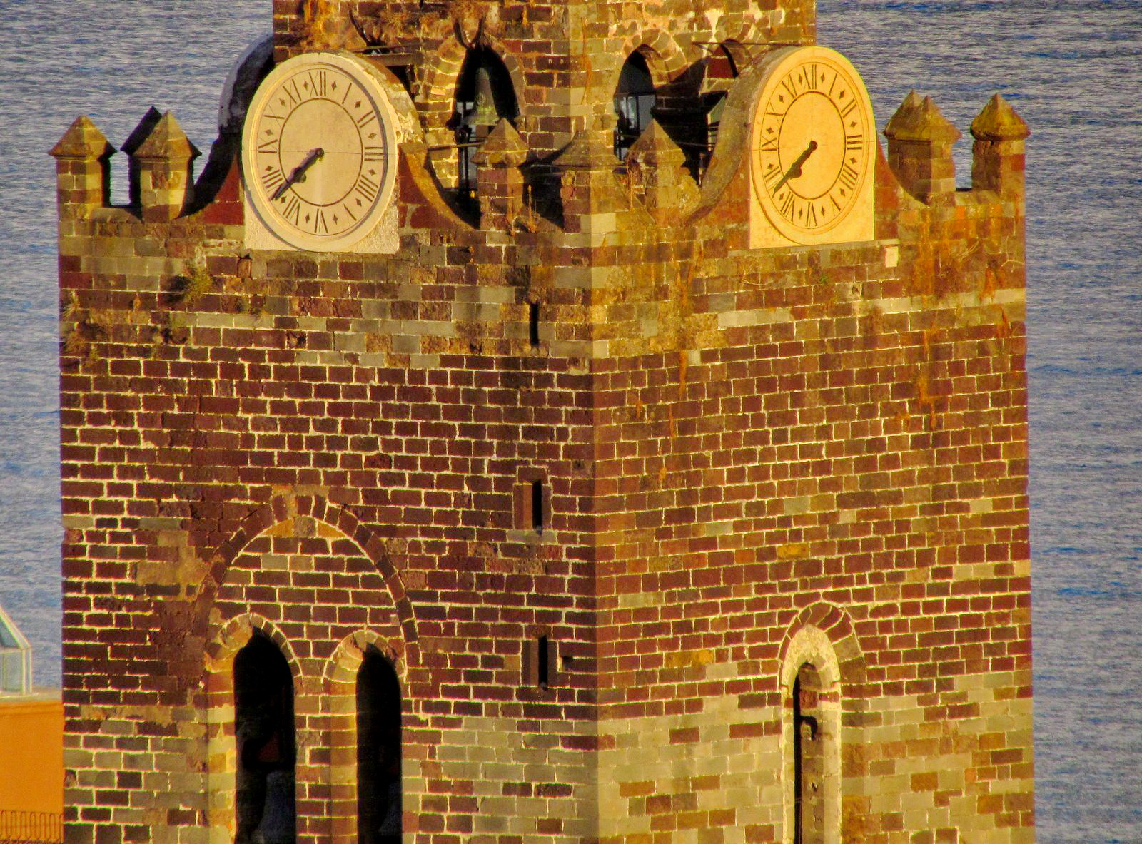 do you see two eyes in cathedral tower?