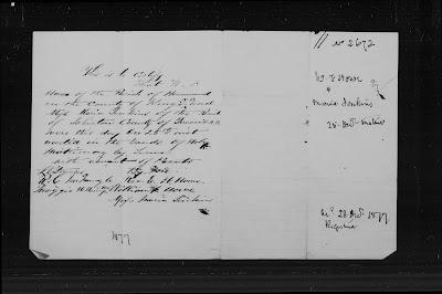 Queens, New Brunswick, Marriage certificates, 1812-1887, W F Howe-Maria Jenkins; FHL microfilm 1,508,597, item 1, image 549.
