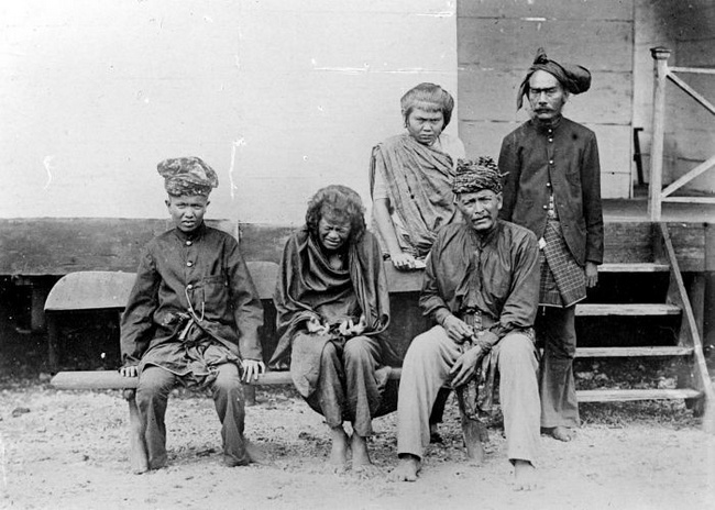 Cut Nyak Dien, setelah tertangkap oleh Belanda