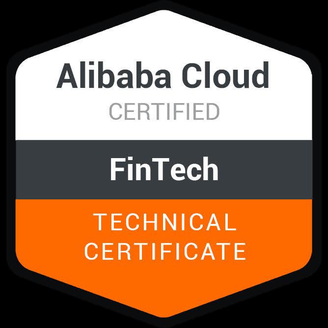 iZND | Alibaba Cloud Fintech Technical Certificate Logo