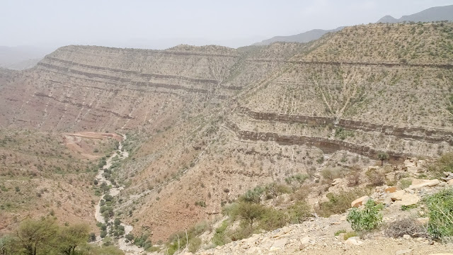 Mountain Area starts after Agula in Mekelle