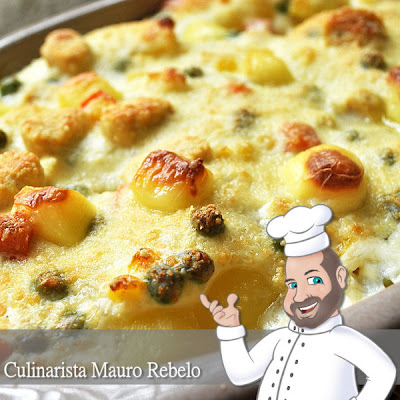 Batatas Gratinadas, Batata Gratinada, Receita, Culinarista, Mauro Rebelo, Receita de, Batatas ao Creme, Batatas ao Forno, Batatas ao Murro