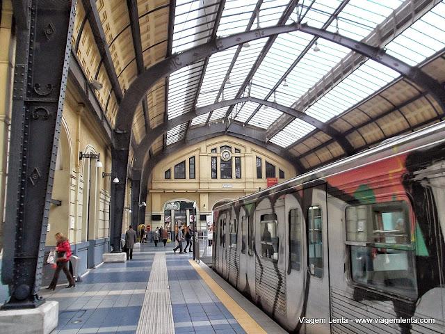 Estação de metrô em Pireus