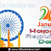 Trending Happy Republic Day HD Images Best Republic Day Greetings in English Pictures Online Whatsapp Messages Happy Republic Day of India 2019 English Quotes Images