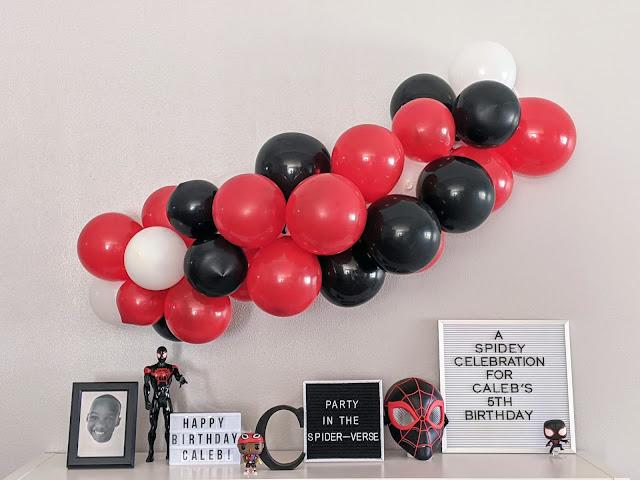 A Spidey celebration for Caleb's 5th birthday