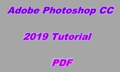 Adobe Photoshop CC 2019 Tutorial PDF