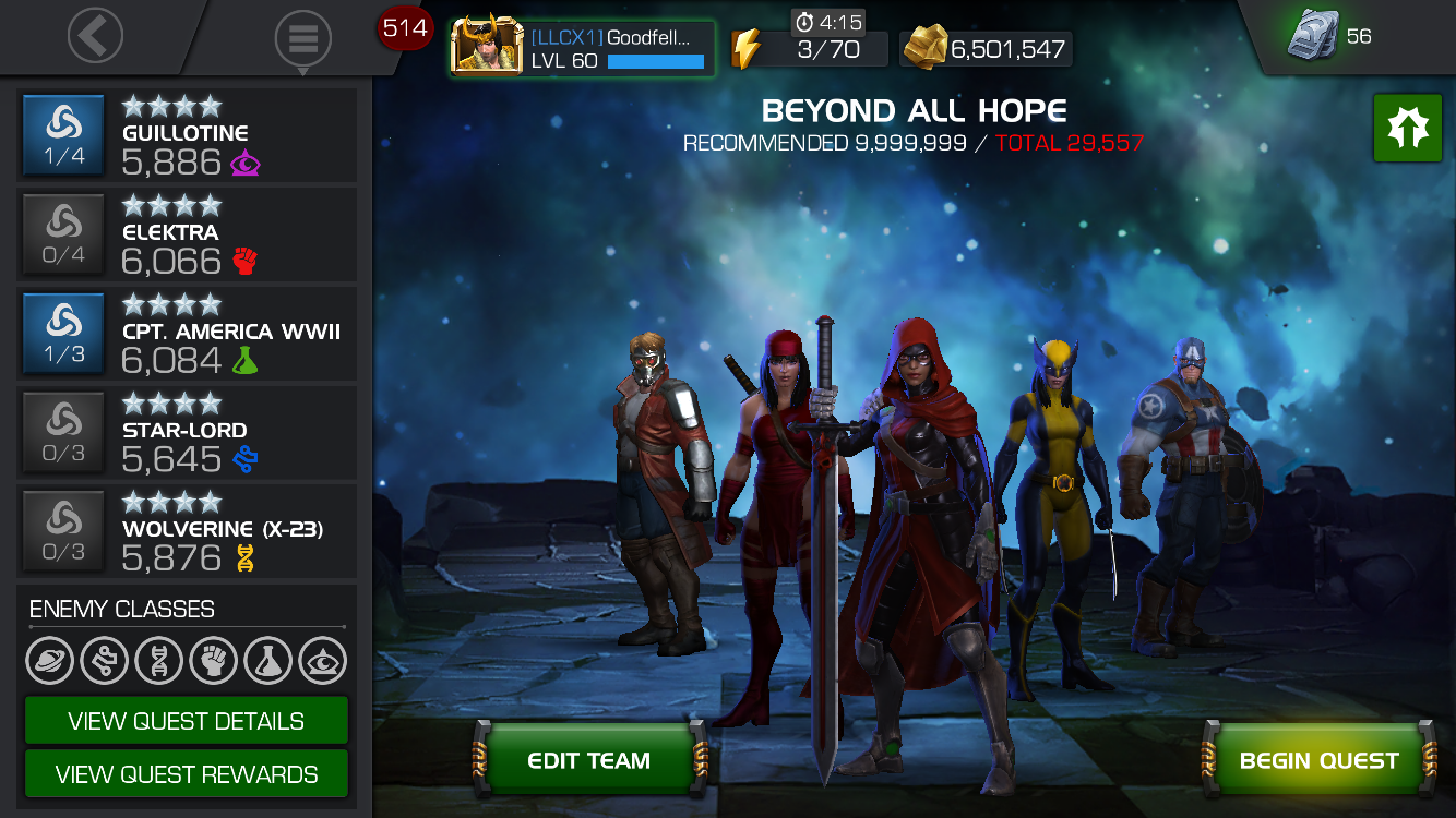Marvel's Contest of Champions: Defeating Labyrinth of Legends