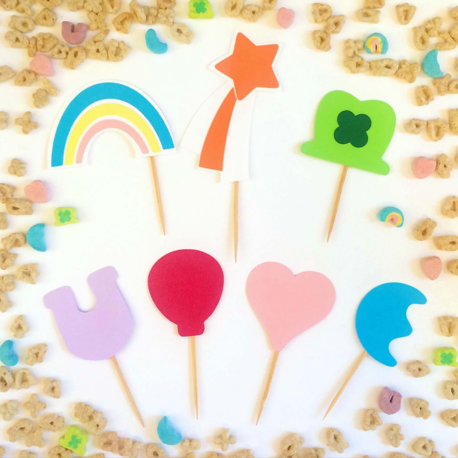 lucky charms marshmallows shapes clip www imgkid