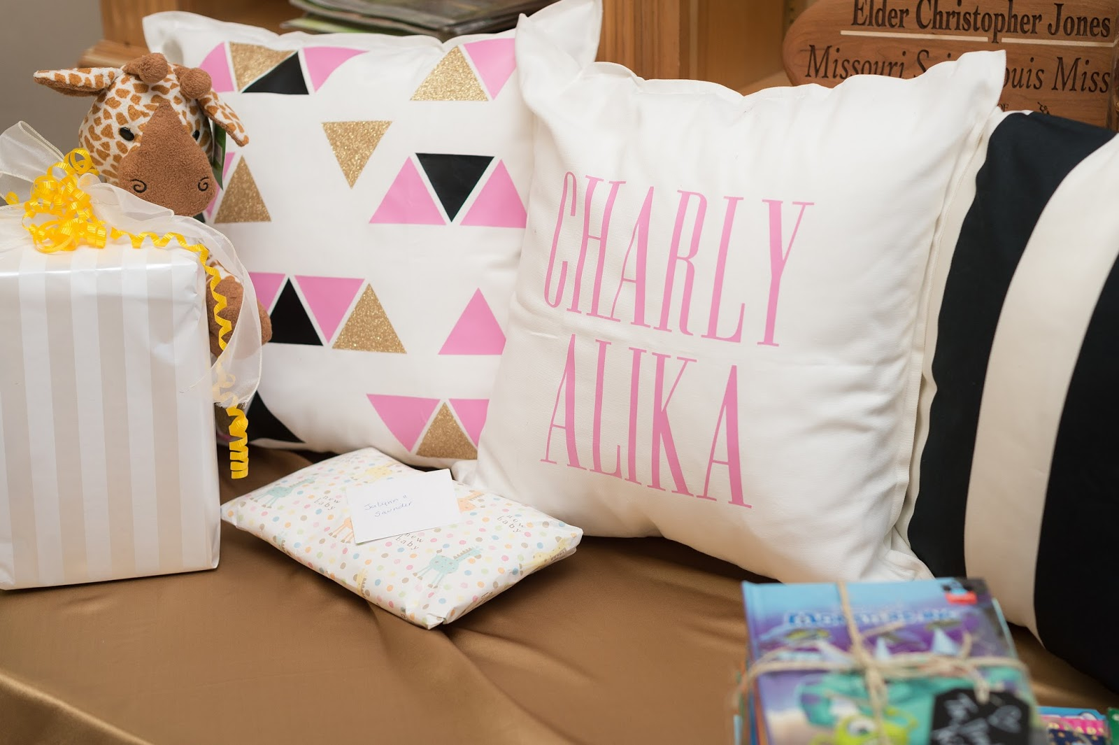 Baby Shower Pillows, Baby Shower