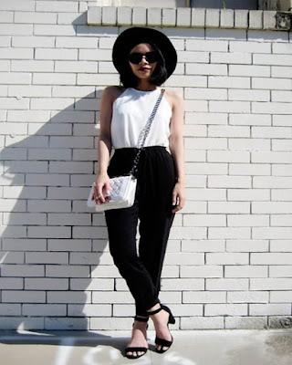 outfit con cuello halter tumblr