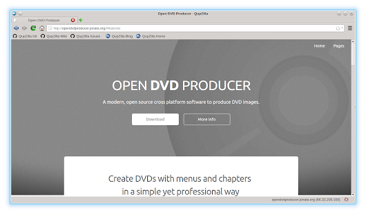 OPEN DVD PRODUCER