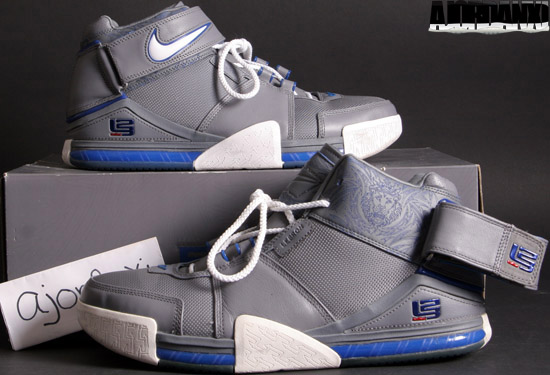 official photos 23b2a cb2cd ... usa nike zoom lebron ii cool grey white varsity royal 2005 2005 36bee  81c46