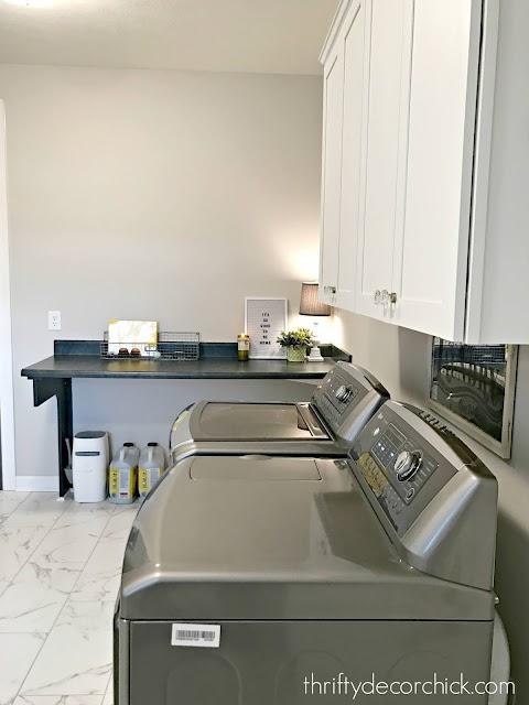 folding table laundry room