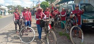 PASTEL Desa Nogosari Jember kembangkan  Budaya Bersepeda Onthel Untuk Wisata Olahraga