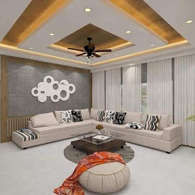 New Gypsum Ceiling Design For Living Room 2020