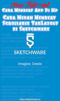 Membuat App Di Hp - Membuat TabLayout Di sketchware