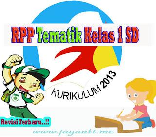 RPP Tematik Kelas 1 SD