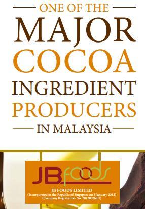 Singapore IPOs: JB Foods Limited