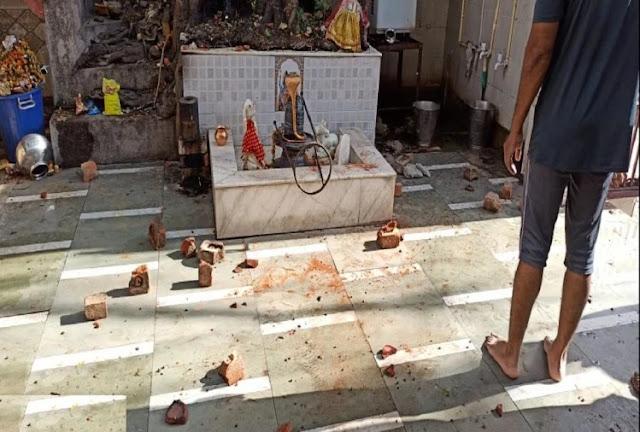 भगवान पर फूटा गुस्सा: लॉकडाउन के बाद बदहाली से था परेशान, मंदिर में पथराव कर मूर्ति को किया क्षतिग्रस्त