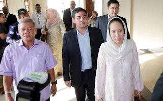 Anak Najib bayar ikat jamin
