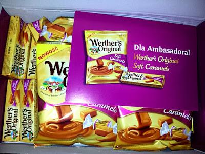 [Rekomenduj.to] Słodka paczka Cukierków Werther's original soft caramels